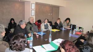 """Дискусия по проект """"Заедно с мама можем повече"""" за проблемите в масовото училища на децата със зрителни увреждания"""