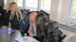 """Зам. Директор Л.Велков от Специализираното училище """"Луи Брайл"""" в дебат с психолог Аглика Данова"""
